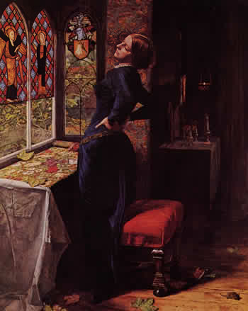 Mariana by John Everett Millais,  1851